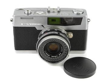 PETRI 7s Camera with 45mm f/2.8 Lens c. 1963