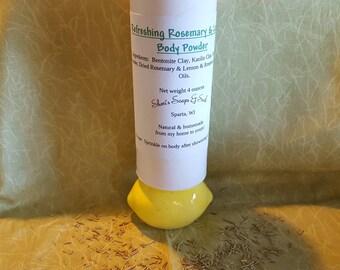 Refreshing Rosemary & Lemon Body Powder
