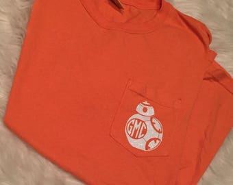 BB8 Monogram Pocket TShirt