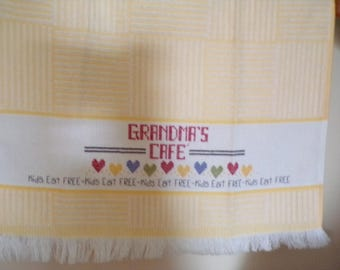 "Grandma'""s Cafe Towel"