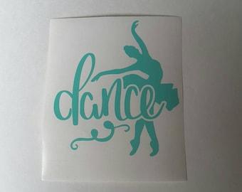 Dance Ballet Vinyl Decal