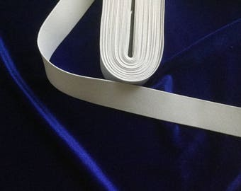 White elastic band 3 cm in width