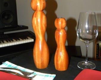 "Pepper Mill 12"" African Mahogany + shaker"