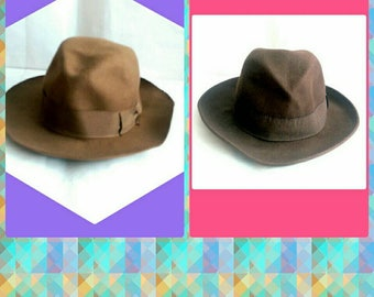 Sisley Italian Wool Homburg Hats