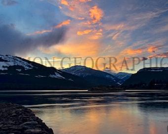 Canvas Print Photograph - Revelstoke, Canada