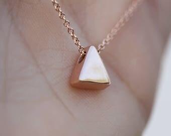 Minimalist Triangle Bracelet