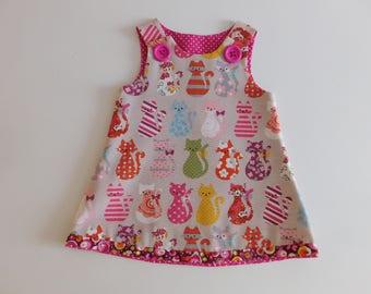 Kit Kat pinafore dress