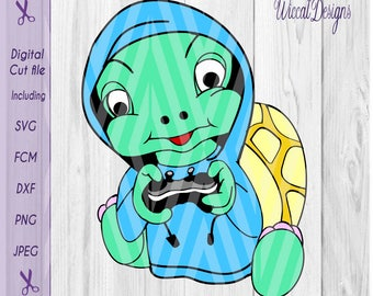 Turtle svg, gaming svg, boys svg, kids svg, svg cut file, kids shirt svg, Hoodie svg, Cricut svg, nerdy svg, cool kid svg, Turtle dxf,