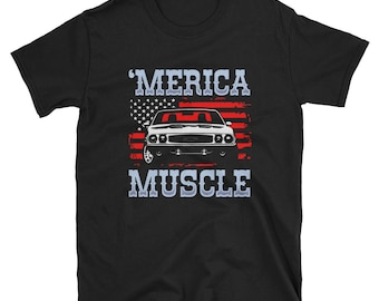muscle car shirt - muscle car - car shirt - muscle cars - classic car shirt - classic cars - american muscle - vintage car - car gift - cars