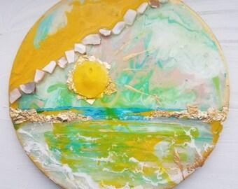 Sol Dorado (6.5 Inch Circle)