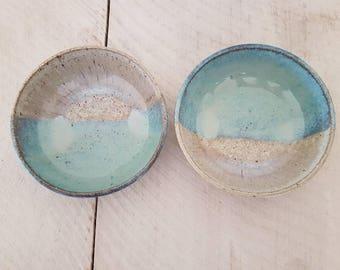 Set of two coastline bowls-seconds
