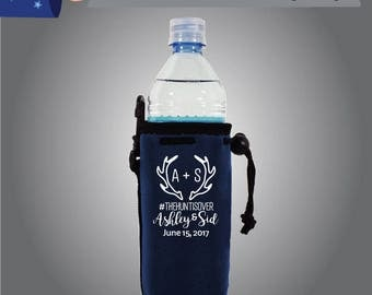 Initial + Initial Hashtag Hashtag Name & Name Date Water Bottle (WB-W5)