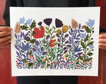 Wild Garden Print