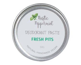 Natural Vegan Deodorant Paste