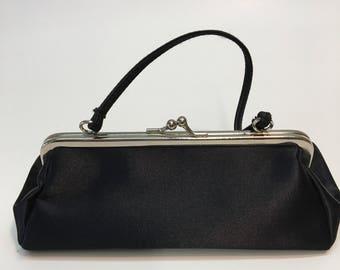Jessica McClintock,Black, Designer Purse ,Clutch, Evening Bag / Handbag - Tote - Pocketbook