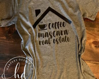 Coffee Mascara Real Estate • Bella Canvas