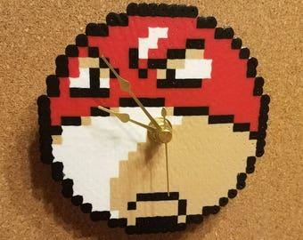 Voltorb Perler Clock (Pokémon Gold/Silver)