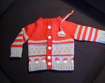 Baby jacket, baby cardigan