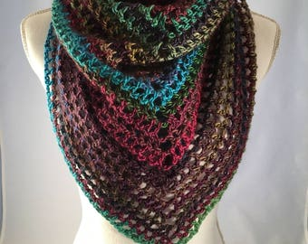 Crocheted Infinity Shawl