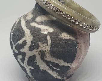 Grey Bangle with sparkle