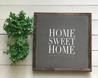 """Home Sweet Home 