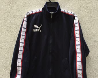 Vintage puma big logo with sleeve tag training top