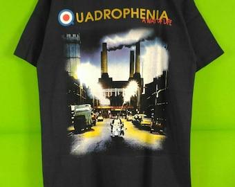 Vintage 90s The Who Quadrophenia Tour Tshirt Rare