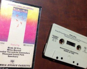 Mahavishnu Orchestra - Birds of Fire audio cassette tape