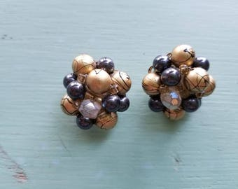 Vintage Cluster Earring