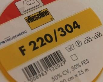 Vilene Medium Interfacing – Iron On | F220 /304..by the half metre