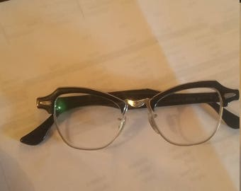 Bausch and Lomb 1959 cat eye glasses