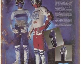 "10"" x 7"" Metal Sign HARO BMX Racing Gear Ad Vintage Look Reproduction B51"