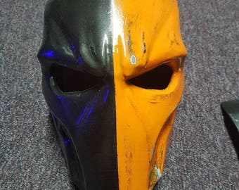Deathstroke/Red Hood Variant Mask painted and assembled kit