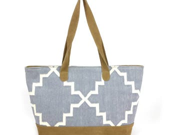 "Handcrafted Shopper ""SUMMERBREEZE"" 