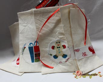 5 bags / bags for little surprises for your guests fill