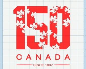 Canada 150 Logo SVG