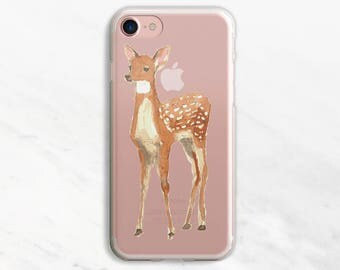 Fawn iPhone 6 Case iPhone 7 Case iPhone 6 Plus Case Clear iPhone 6 Case iPhone 7 Plus Case Clear iPhone 5s Case Clear iPhone SE