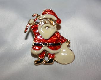 Cute Santa Claus Pin Christmas Xmas
