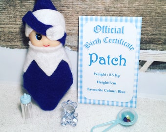 Baby Elf Doll Patch The Shelf Sitter