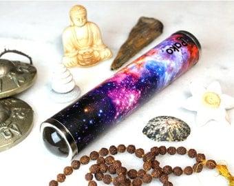 Teleidoscope. Fractal and Mandala explorer. Kaleidoscope. Psycodelic art. Personalized gift. St. Patrick's gift. Universe. Space. Handmade