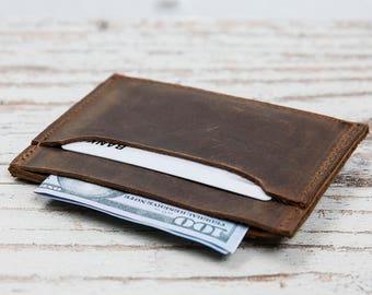 Leather Slim Wallet, Minimalist Wallet, Mens Leather Wallet, Mens Wallets, Groomsmen Gifts, Leather Wallets, Mens Wallet, Slim Wallet