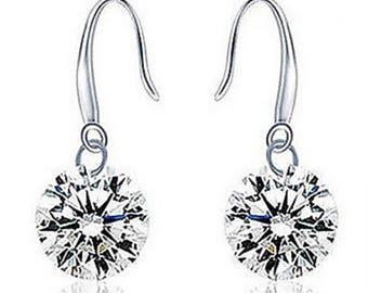 Earring Drop Earrings Jewelry Women 925 Sterling Silver