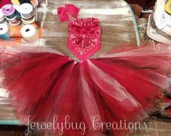 Cowgirl tutu halloween costume. Adult sizes