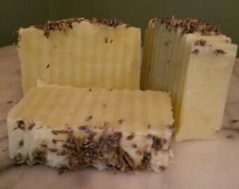 100% All Natural Lavender Lemongrass Homemade Soap