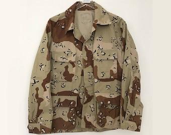 Military jacket / storm desert jacket / us army jacket / combat jacket / vintage camo jacket / army jacket vintage / desert jacket
