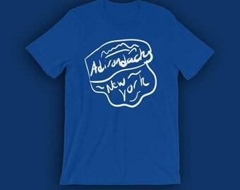 Adirondacks T-Shirt | Hiking Shirt | Outdoor Shirt | Comfy Shirt