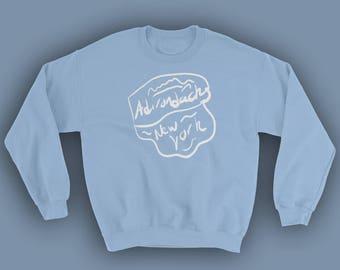 Upstate NY Adirondacks Crewneck - Gift for Her - Hiking Shirt - Hiking Sweatshirt