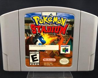 N64 pokemon stadium works great