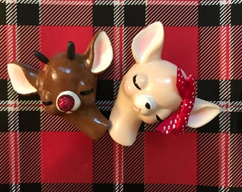 Rudolph and Clarice Set (3)