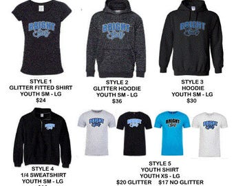 BRIGHT STAR Youth spirit wear